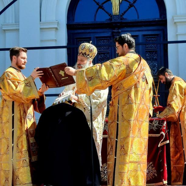 Părintele Arsenie Pohrib a fost hirotesit întru protosinghel de Mitropolitul Moldovei și Bucovinei