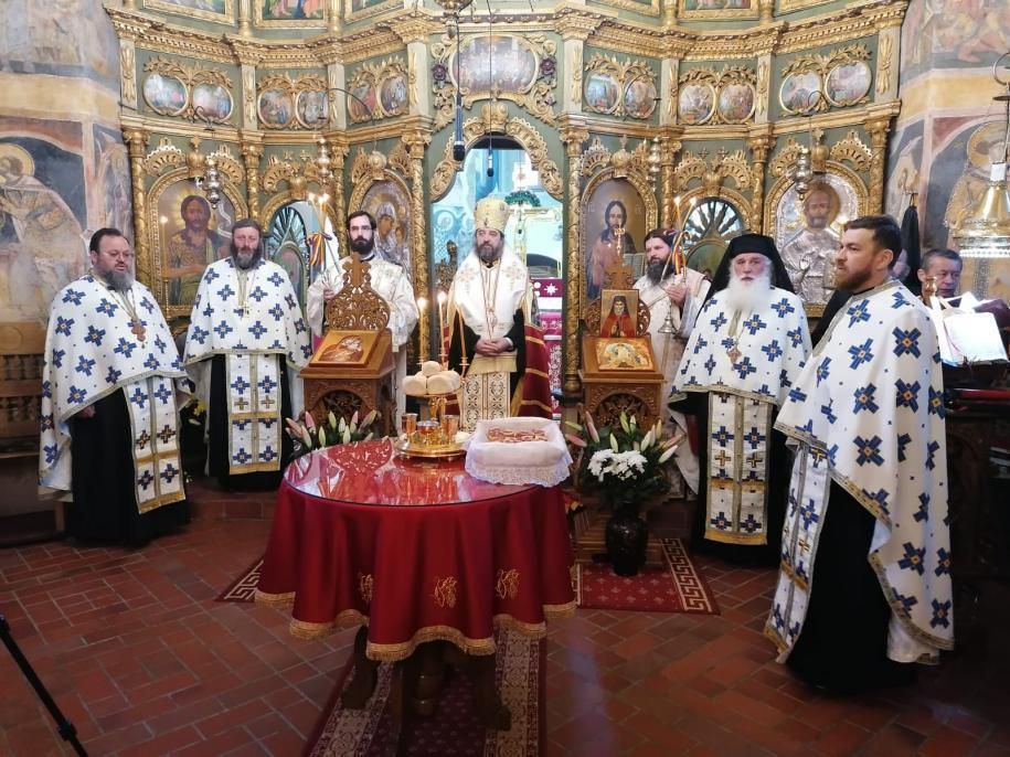 PS Părinte Nichifor Botoșăneanul la Mănăstirea Coșula